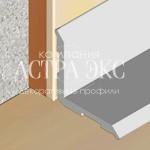 Внутренний накладной профиль IC из алюминия