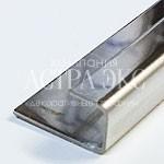 Профиль из нержавеющей стали LT. Высота 10/12,5/15 мм.