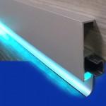 Плинтуса для светодиодной подсветки