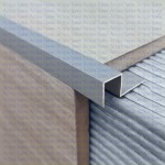 Прямоугольный профиль CU для защиты края ступени из алюминия