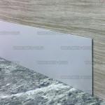 Плинтус пристеночный PP из алюминия