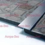 Т-образный профиль SP14 /26 с закругленными контурами из алюминия