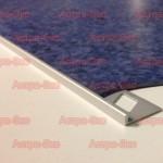 Г-образный профиль для наливных полов TR из алюминия